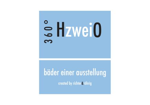Logo 360°HzweiO Bäderausstellungen der Richter & Röhrig GmbH